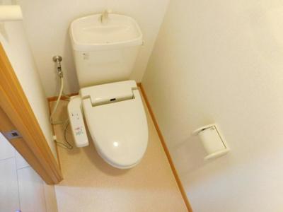 【トイレ】ルミナスオクダ