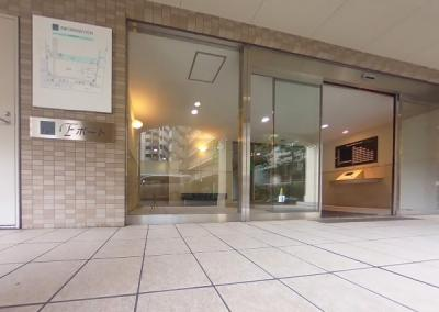 クリオレジダンス東京E棟のエントランスです。