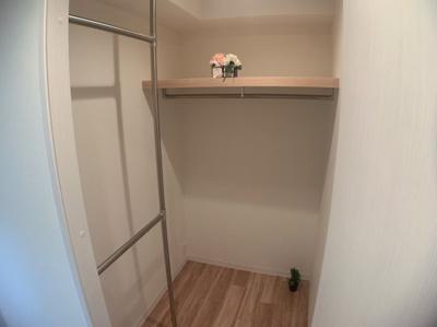 WICが廊下にあります。とても便利にお使い頂けます。