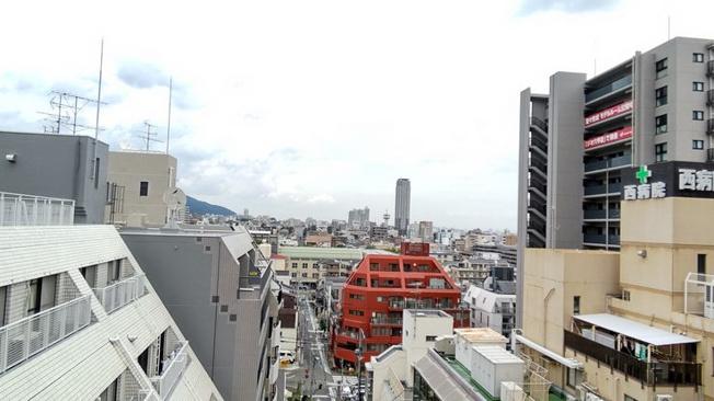 【展望】ライオンズマンション六甲道第3(灘区深田町)8階
