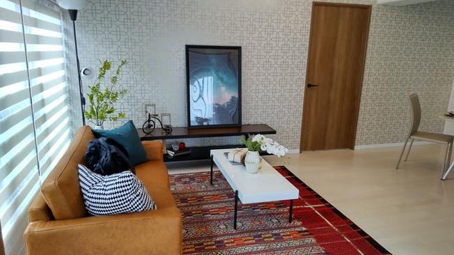 【居間・リビング】ライオンズマンション六甲道第3(灘区深田町)8階