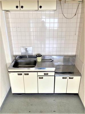 【キッチン】佐太中町5丁目事務所付貸倉庫