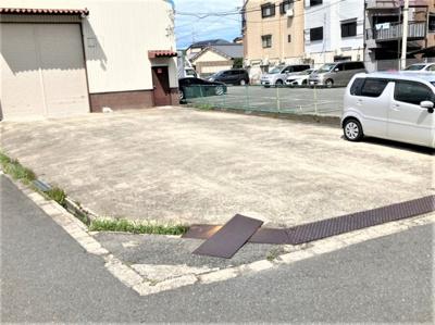 【駐車場】佐太中町5丁目事務所付貸倉庫