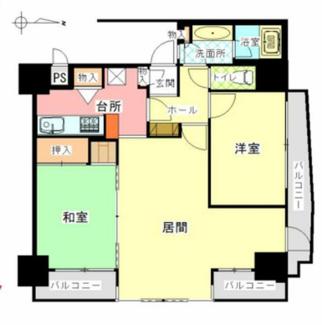 【間取り】藤和シティコープ湘南平塚