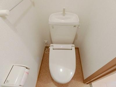 【トイレ】レジデンスヒル ヌマタ Ⅰ