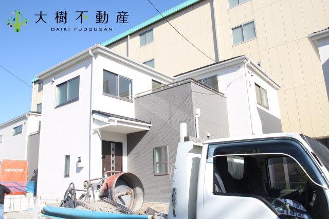 【前面道路含む現地写真】綾瀬市小園 新築戸建て 全3棟 【仲介手数料無料】