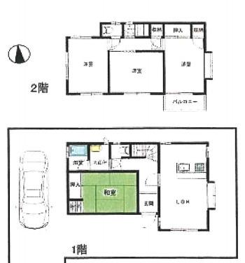 土地面積129.95平米、建物面積85.08平米~ゆったりとした4LDK