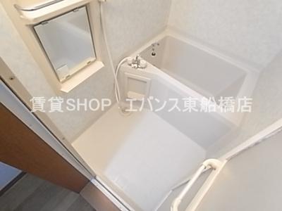 【浴室】グローバルヴィラ弐番館
