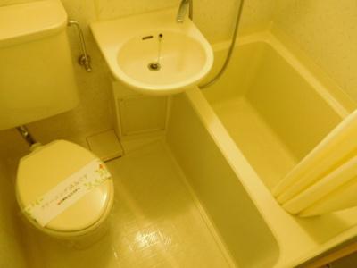 【浴室】ソレイユ西荻