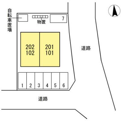 【区画図】エスカーザ