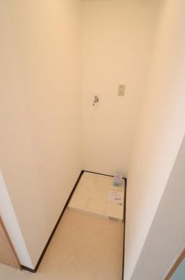 ※洗濯機置場※写真は105号室使用