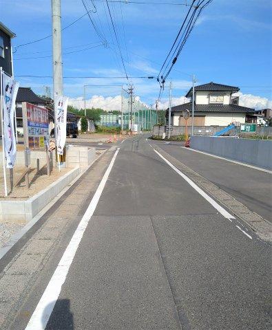 前面道路含む現地写真 撮影:2021.9.4