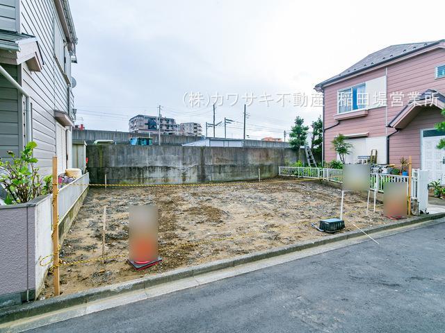 【外観】矢野口 車2台OK 新築2階建て