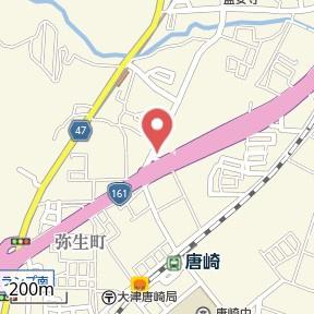 【地図】レイクハイツⅡ