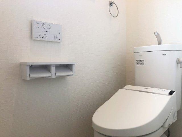 各階にトイレがあります。