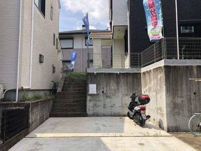 2台駐車可能です。