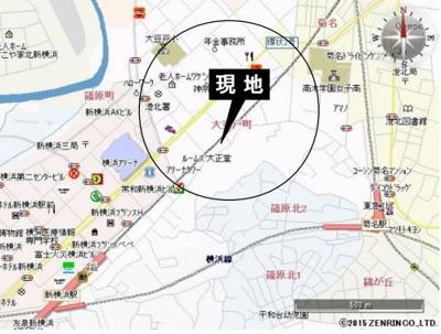 【地図】大豆戸町 貸倉庫・工場・事務所