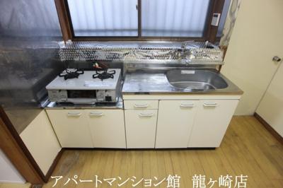 【キッチン】野堀嵯峨貸家