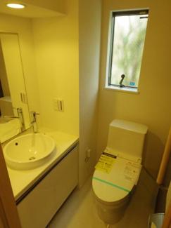 トイレ新規交換 手洗い付