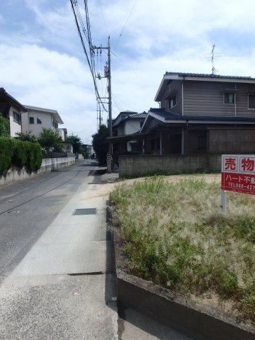 【前面道路含む現地写真】笹沖 売地