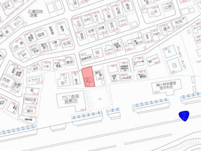 【地図】笹沖 売地