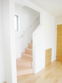 リビングイン階段施工例です。