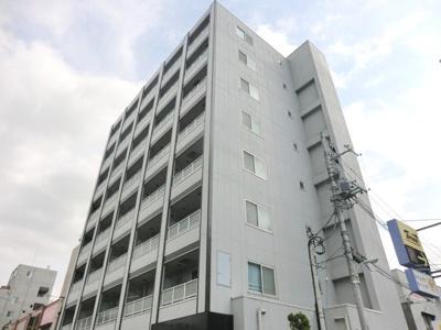 ☆オートロック&エレベーター完備!鉄骨造8階建てマンション!外観です。☆