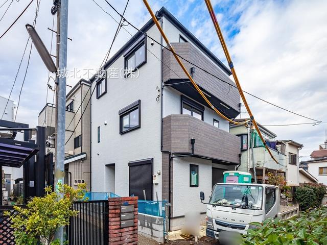 板橋区弥生町の閑静な住宅地に誕生する新築戸建 限定1棟 只今、建築中になりますがモデルハウスもご案内いたします 建物の仕様・設備やボリュームをご確認できます