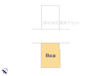 【区画図】葛飾区西新小岩3丁目新築戸建て