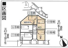 【区画図】新築建売 花巻市松園町第2 3号棟