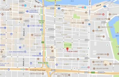 【地図】センターハウス