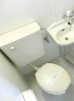 【トイレ】レオパレス千亀利