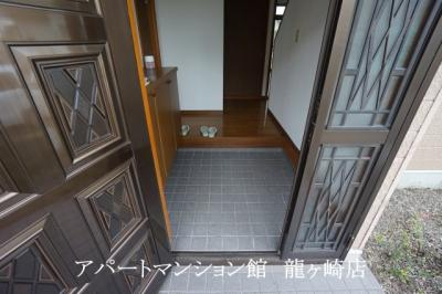 【玄関】河内町猿島邸