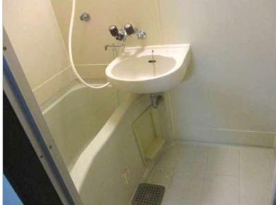 【浴室】クレッシェンドK 敷金0礼金0 ネット無料 バストイレ別