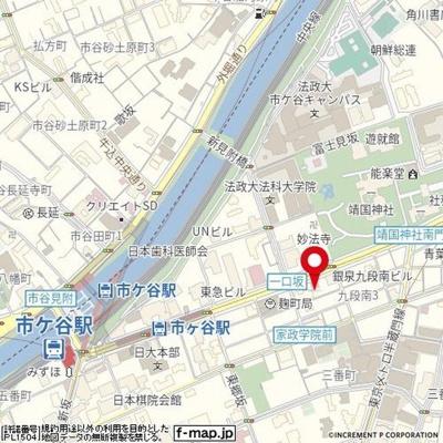 【地図】エルハイム麹町