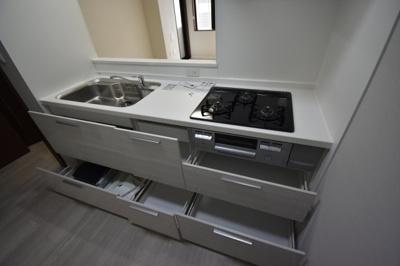 【キッチン】麻布十番 2LDK ライオンズマンション麻布十番南