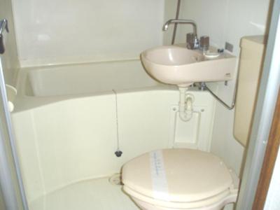 【浴室】コーポユリズヒルズ