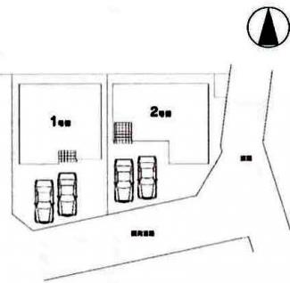 【区画図】鶴ヶ島市五味ケ谷 新築分譲 「鶴ヶ島駅」徒歩15分 敷地40坪 【杉下小学区】
