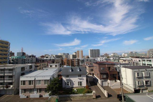 北側洋室からの眺望です。