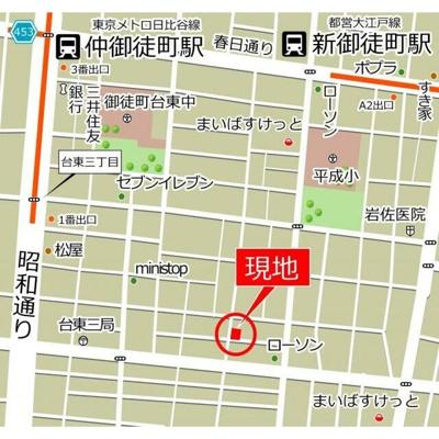 【地図】MJKハウス