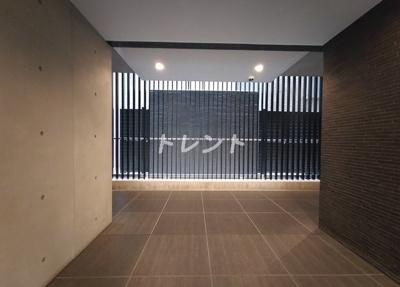 【ロビー】セントラルプレイス新宿御苑前