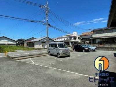 【駐車場】ソレイユアパート