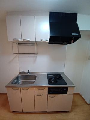 グリル付ガス2口システムキッチン