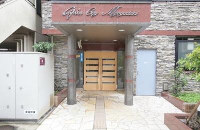 【エントランス】ガラ・シティ茗荷谷(ガラシテイミヨウガダニ)
