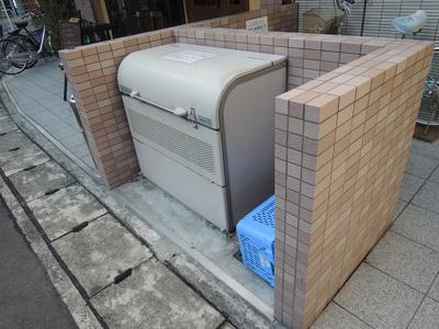あると便利な「敷地内ゴミ捨て場」