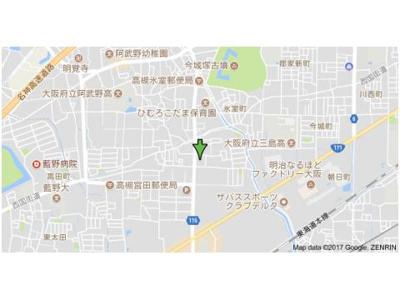 【地図】ホーミーレジデンス (株)Roots