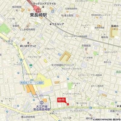 【地図】ロータス南長崎