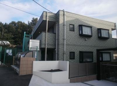 外壁タイル貼のマンション