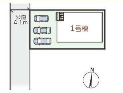 【区画図】リーブルガーデンS枚方市渚栄町2期