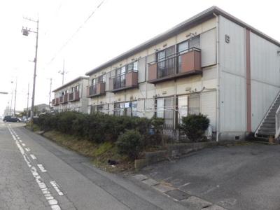 【外観】パナハイツ橋本 B